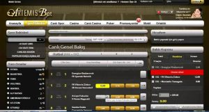 Artemisbet Canlı Bahis Sitesi İnceleme – Site Oyunları